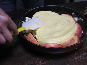 皆で作ろうkeiの超手抜きりんごパン!_e0151349_13485898.jpg