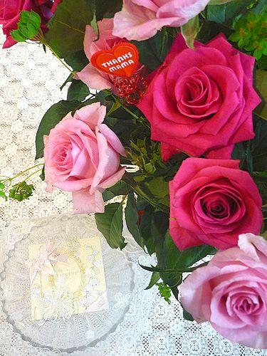 LADUREE ラデュレ すずらんと薔薇の日。。。* *。:☆.。†_a0053662_23212634.jpg
