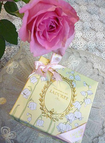 LADUREE ラデュレ すずらんと薔薇の日。。。* *。:☆.。†_a0053662_23294955.jpg