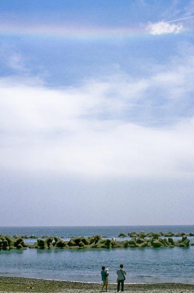 用宗BBQ 青空の虹_c0150383_17441916.jpg