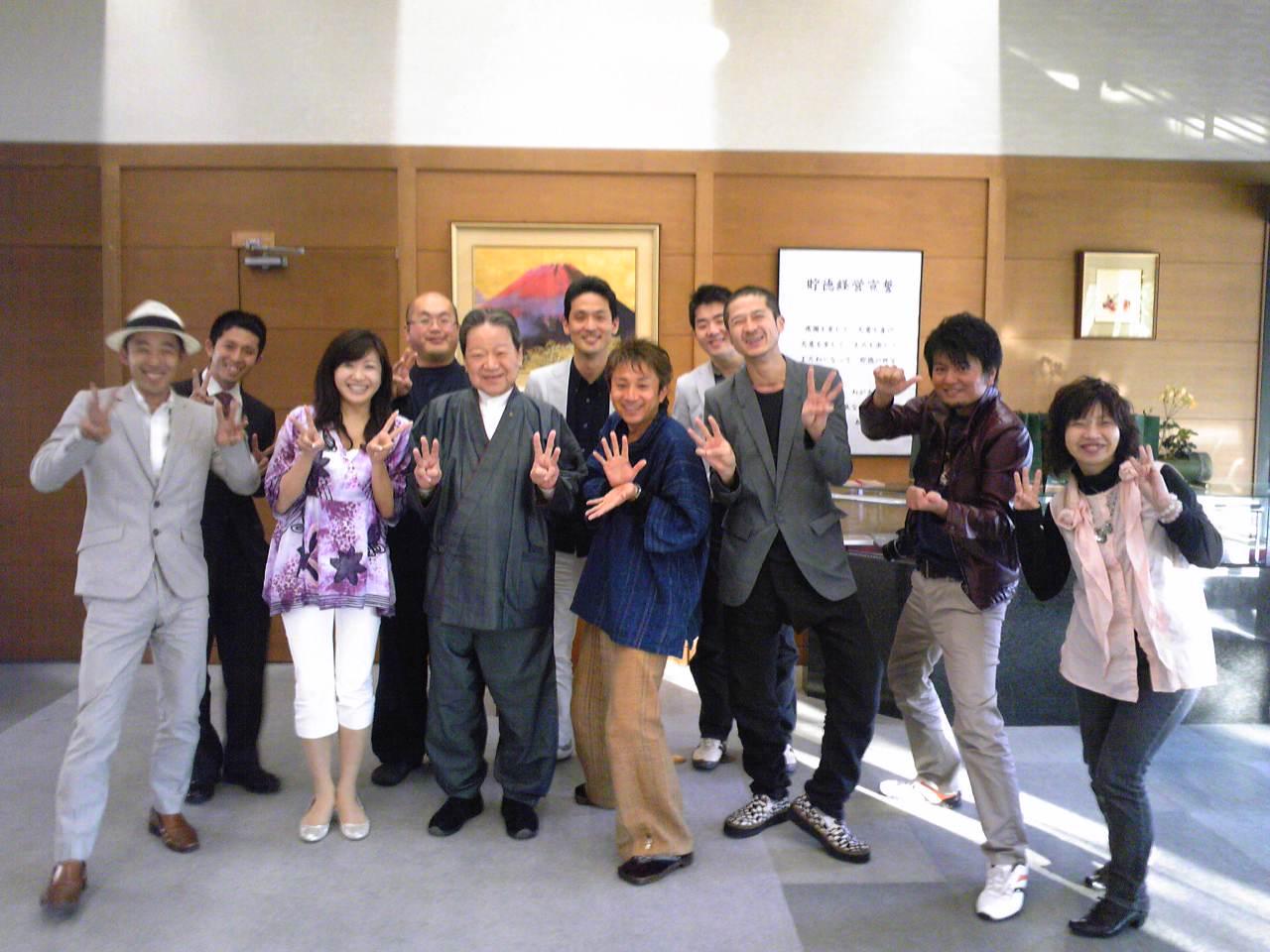 ☆満開の桜と竹田和平さん☆_e0142585_1332276.jpg
