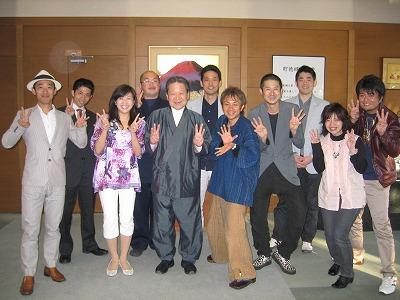 ☆満開の桜と竹田和平さん☆_e0142585_14334317.jpg