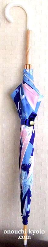 シルクのスカーフ2枚で日傘?!_f0184004_22553366.jpg