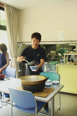 炊き出し訓練&避難訓練_a0154110_13441066.jpg