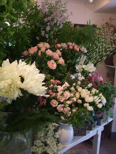 オークリーフ花の教室(望月さんの作品)_f0049672_18121593.jpg