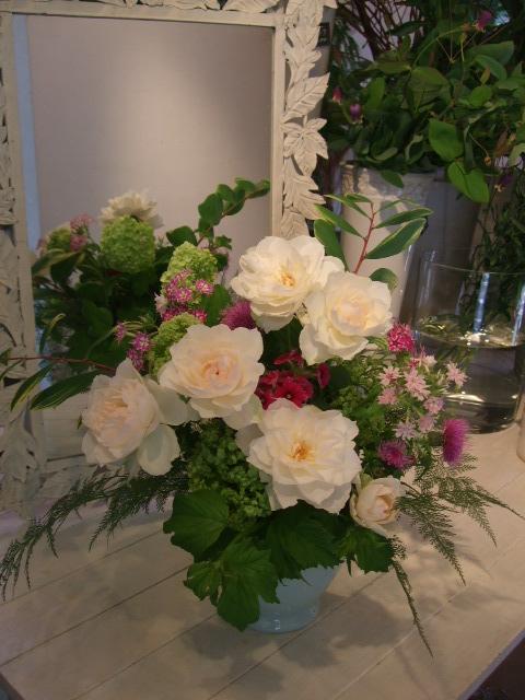 オークリーフ花の教室(望月さんの作品)_f0049672_18165326.jpg