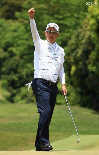 日本プロゴルフ選手権。最終日。_e0173897_1651532.jpg