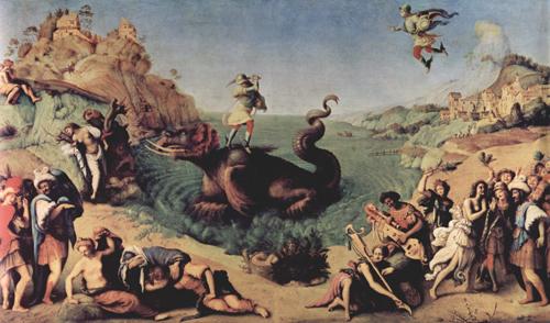 ルネサンスのお伽噺「アンドロメダを救うペルセウス」~第19室_f0106597_0571117.jpg