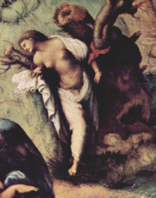 ルネサンスのお伽噺「アンドロメダを救うペルセウス」~第19室_f0106597_253062.jpg