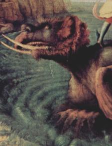 ルネサンスのお伽噺「アンドロメダを救うペルセウス」~第19室_f0106597_264096.jpg