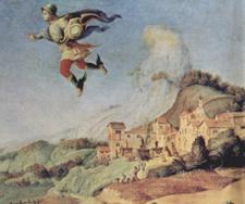 ルネサンスのお伽噺「アンドロメダを救うペルセウス」~第19室_f0106597_29294.jpg