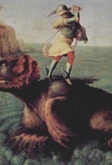 ルネサンスのお伽噺「アンドロメダを救うペルセウス」~第19室_f0106597_295748.jpg