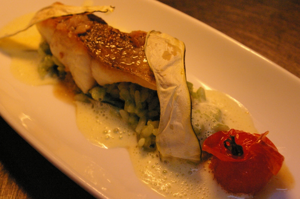 魚料理と初夏のリゾット♪_b0077531_23265712.jpg