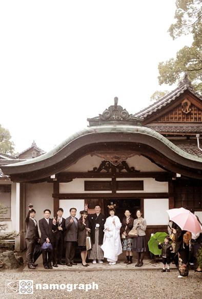 雨の結婚式_a0165860_20253214.jpg
