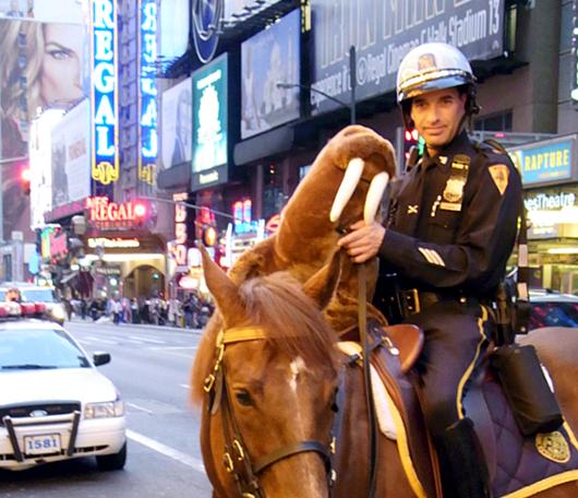 とてもフレンドリーな騎馬隊のお兄さん_b0007805_128032.jpg