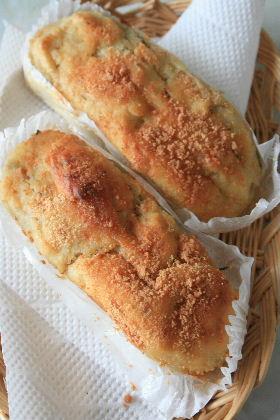 ゴールデンスペシャル酵母で、ジャガイモとチーズのガレット。_f0082141_1002978.jpg