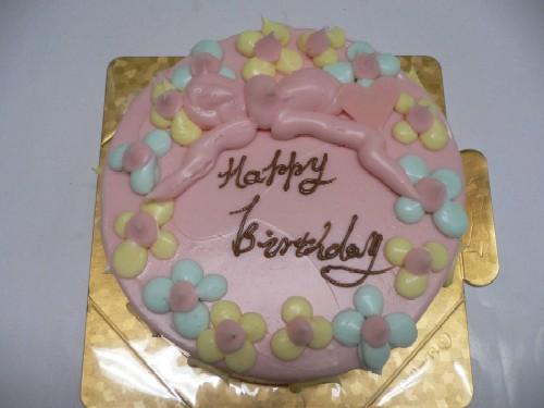ピンクのケーキ_c0197734_1565644.jpg