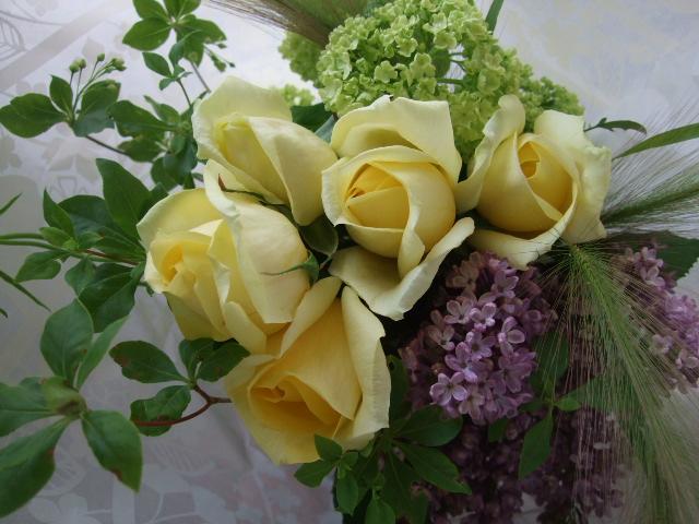 オークリーフ(母の日の花束)_f0049672_173117100.jpg