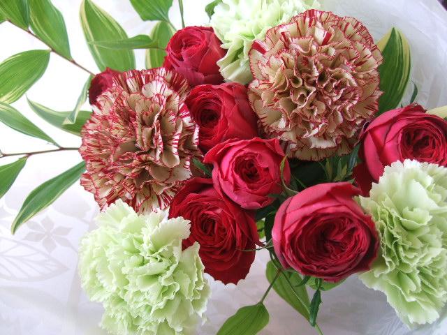 オークリーフ(母の日の花束)_f0049672_17313035.jpg