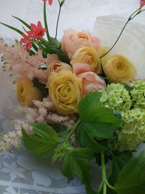 オークリーフ(母の日の花束)_f0049672_17323959.jpg