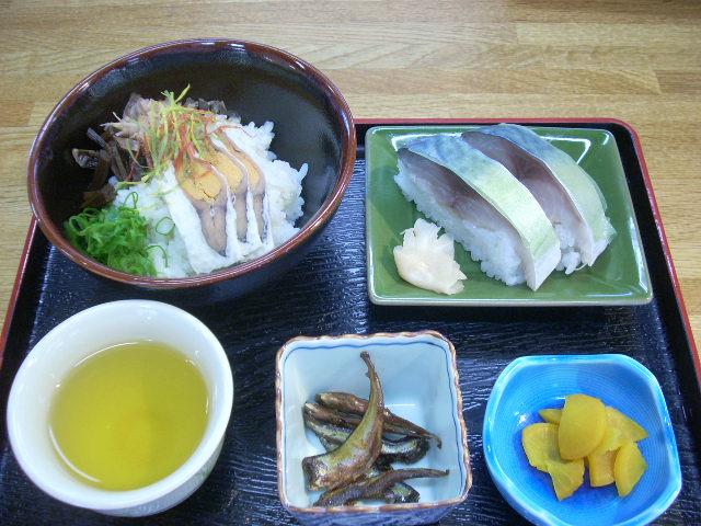 鮒寿司、の試食販売会イン道の駅あじかまの里_a0087789_17503892.jpg