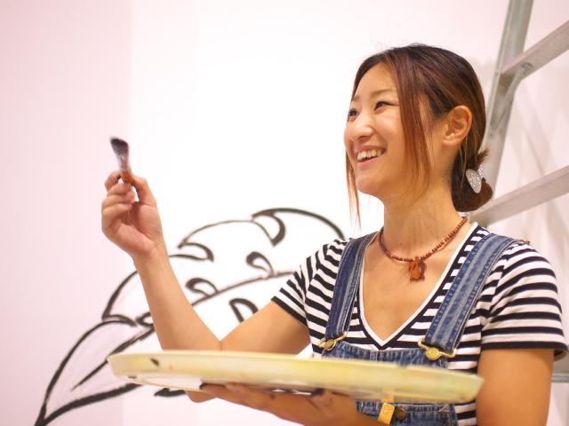 笑顔の画家RIEさん 祭りの後は_f0024992_9455214.jpg