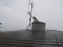 屋根の塗装工事・・・・5月20日(木)_f0118796_1012113.jpg