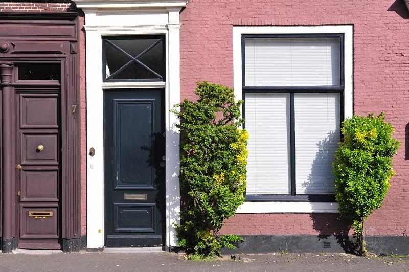 オランダ・ハーグの窓辺_f0050534_6573359.jpg