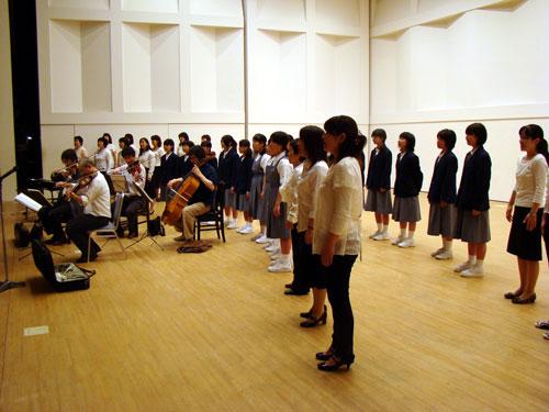 終了!マイ・ハート「1ノート・1コイン」コンサート in 安芸区_a0047200_7153530.jpg