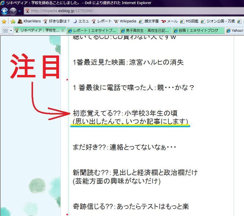 リキペディアの初恋(注:ノロケ)←違うだろw_f0186726_14592429.jpg