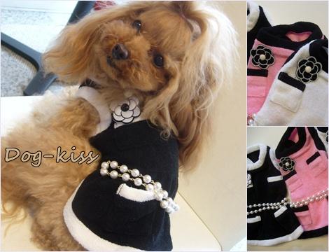 Dog-KissLuxury・パイル・ワンピ入荷しました_b0084929_14393782.jpg