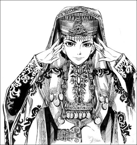 森薰《姊嫁物語》──騎著馬而來的中亞新娘_c0073742_22395650.jpg