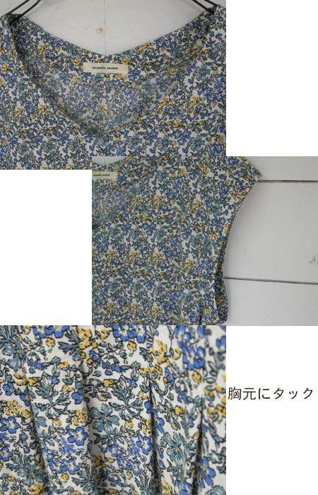 NOMBRE IMPAIR 野花のフレンチタックワンピース_a0130646_14572460.jpg