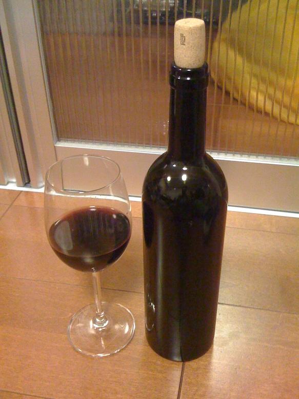 満月の葡萄酒2009(瓶内熟成)のサンプル試飲_d0084478_11354380.jpg