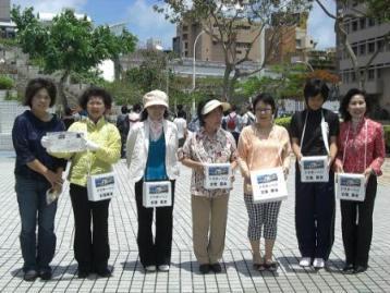 MESH支援で女性議員ら募金活動_f0150886_14152916.jpg