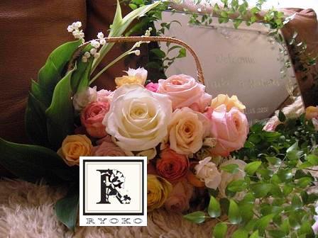 Wedding:Welcome Board\'s Flower _c0128489_1553148.jpg