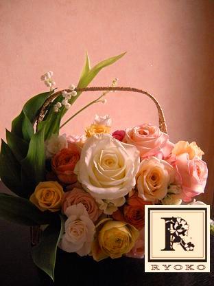Wedding:Welcome Board\'s Flower _c0128489_15542546.jpg