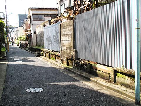 河骨川の傍流と、かつての宇田川の流れたち_c0163001_2328137.jpg
