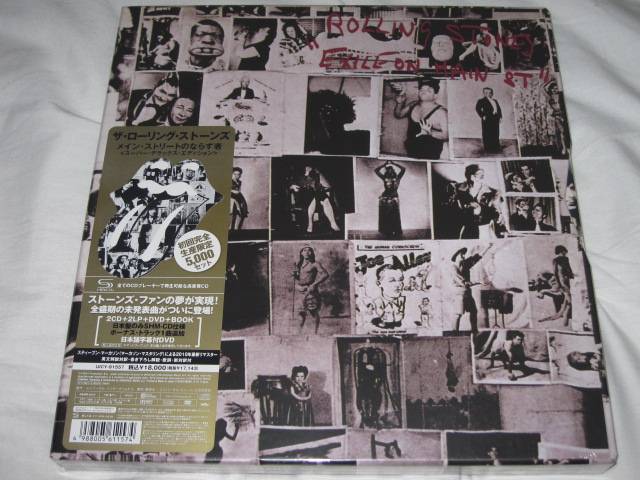 THE ROLLING STONES / EXILE ON MAIN STREET (SUPER DELUX EDITION)_b0042308_22565220.jpg