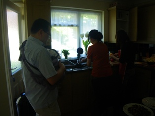 Andy&Amy\'s house-warming lunch party~♪_a0138438_1123126.jpg