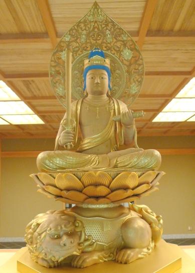 聖僧さん (文殊菩薩)_a0133859_11363382.jpg