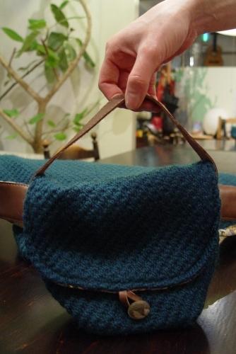 オリジナルバッグ、完成!!!ブルーグリーンのななめ掛け!_a0096367_2135674.jpg