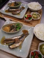 5/25晩ごはん:鰯梅煮と小松菜の煮びたし_a0116684_19454147.jpg