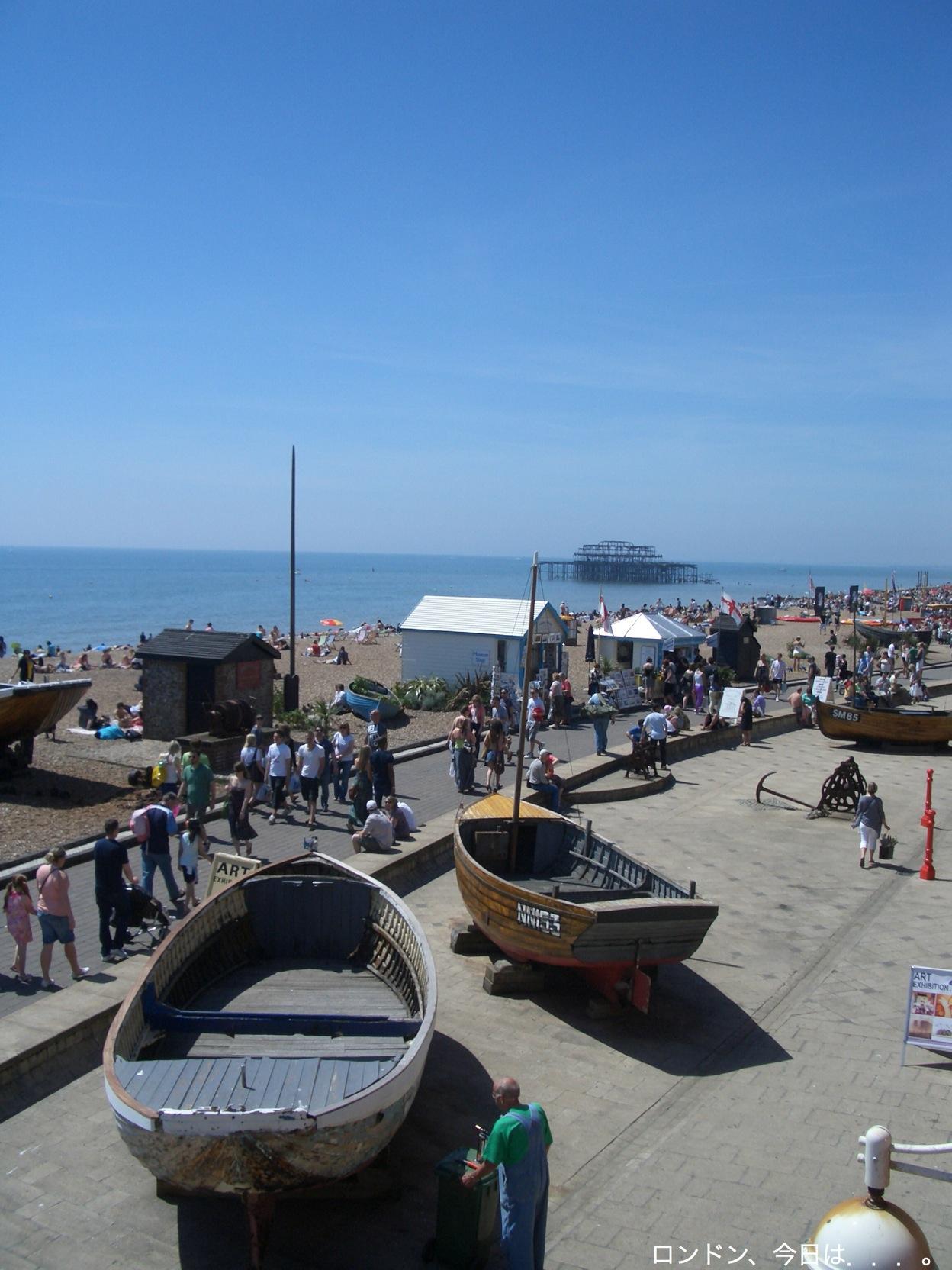 再び、ブライトンビーチ_a0137487_22235235.jpg