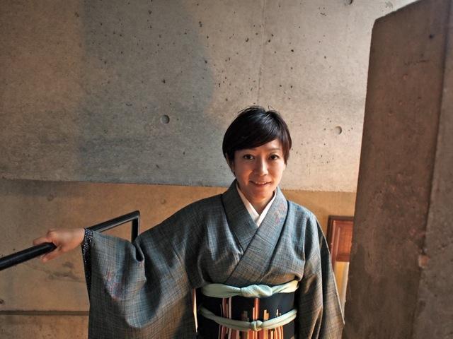着物を着て六本木で和食を楽しむ_b0166144_2355036.jpg