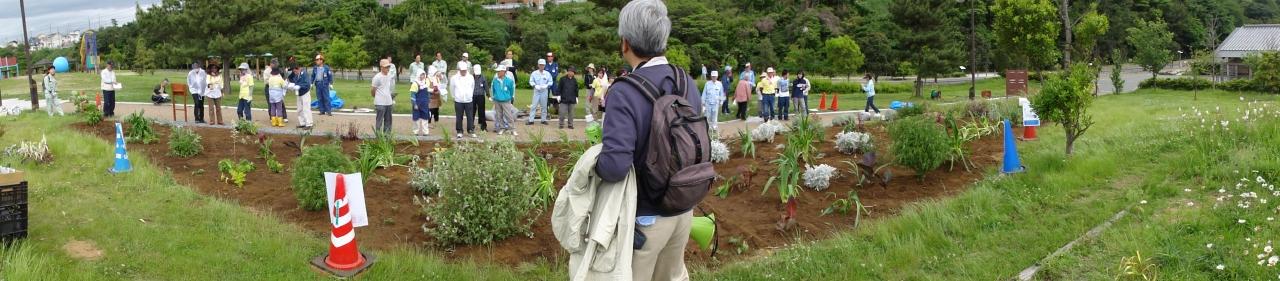 花壇管理ボランティア交流会ー1_c0108460_2341313.jpg