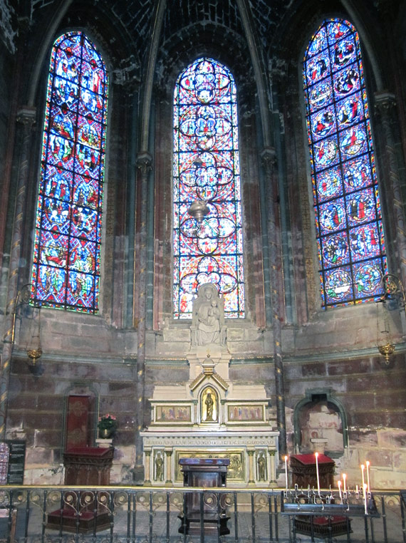 フランスへGO♪♪^^♪♪ 〜トゥールへ→サン・ガディアン大聖堂〜_f0119369_10591063.jpg