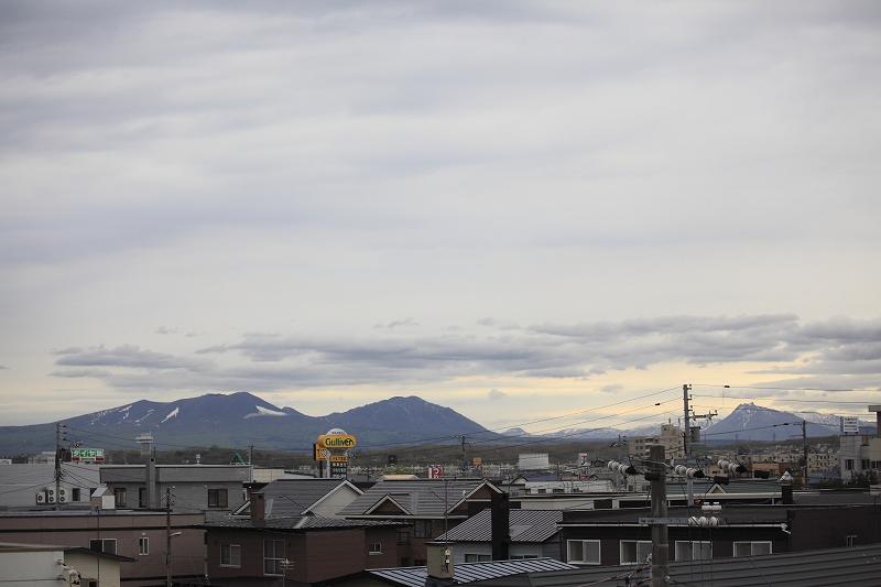 リフォームして樽前山がいつも見れるようになった_a0160581_19263578.jpg