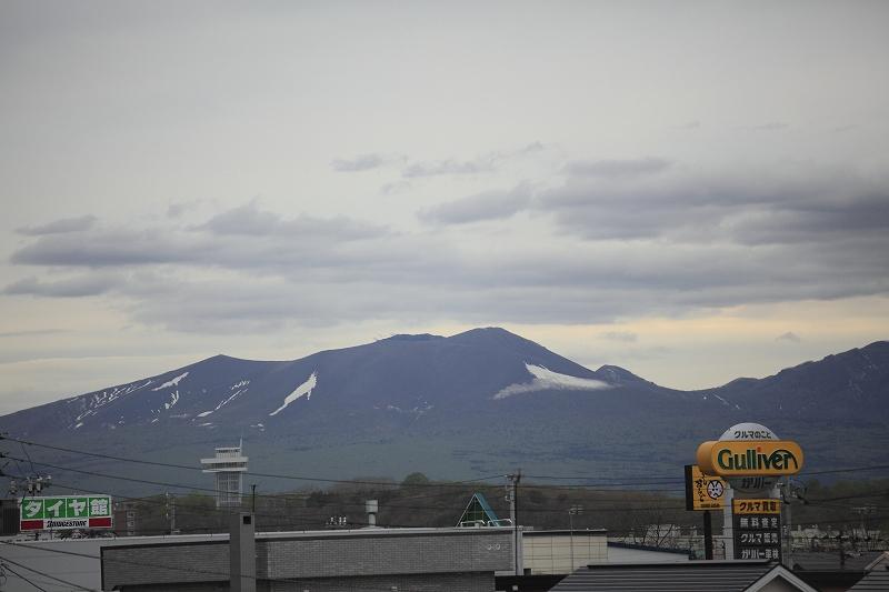 リフォームして樽前山がいつも見れるようになった_a0160581_1927061.jpg
