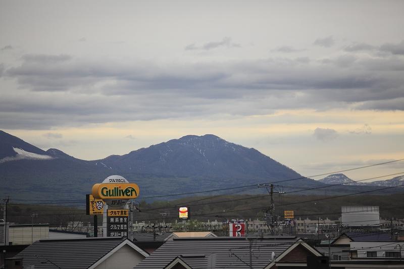 リフォームして樽前山がいつも見れるようになった_a0160581_19271488.jpg